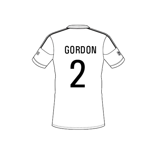 gordon-png Team Sheet