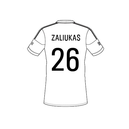 zaliukas Team Sheet