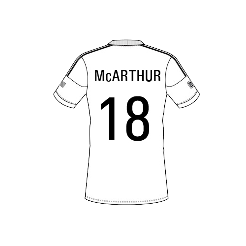 mccarthur-png Team Sheet