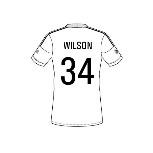 wilson Team Sheet